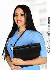 Young female nurse