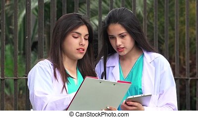 Young Female Nurses