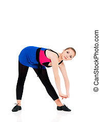 Young fitness girl