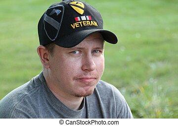 Young Generation X Operation Iraqi Freedom Veteran