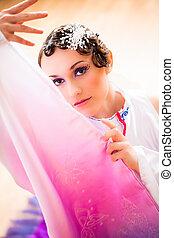 geisha - young girl in geisha-dress