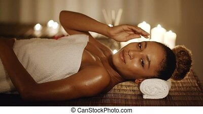Young Girl In Spa Salon