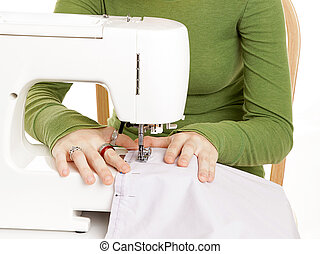 Young Hands Sewing