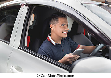 mobile phone while driving