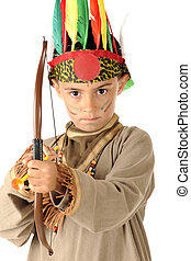 Young Indian Warrior