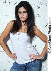 young latino girl