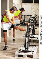 cycling gym