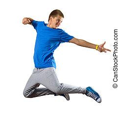 Young man dancer