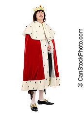 man in the royal costume