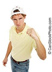 Young Man Tough Guy