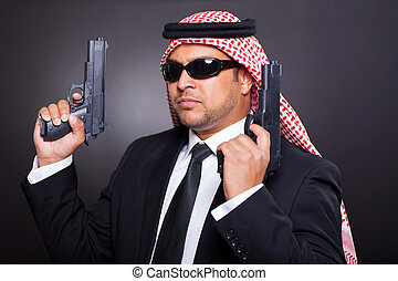 middle eastern hitman