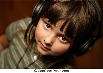 Young music lover