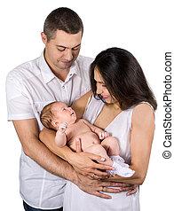 parents keep their newborn