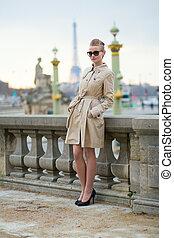 Young Parisian woman