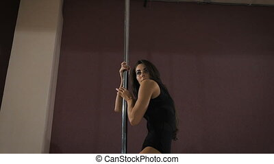 young professional pole dancer - Young professional pole ...