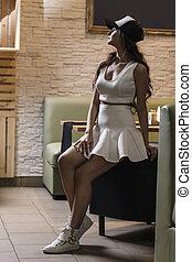 Young seductive woman