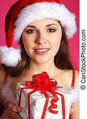 Young sexy Santa