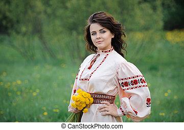 Young Slavic girl