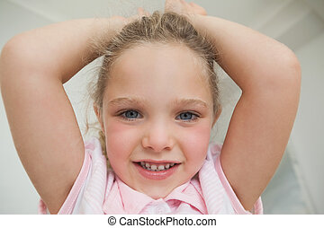 Young smiling girl