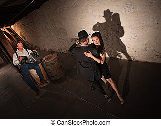Young Tango Dancers Performing - Tango dancers performing ...