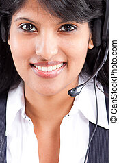 young telephone operator