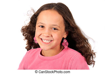 Young ten year old girl - Pretty young ten year old girl...