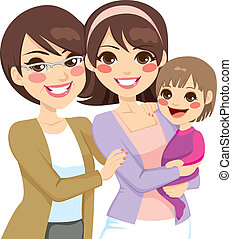 Young Three Generation Family - Young three generation ...