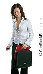 women in a business suit