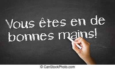 Your Are in Good Hands (In French)