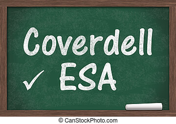Your Coverdell education savings account, Chalkboard with a...