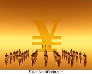 Your financial  work team, yen