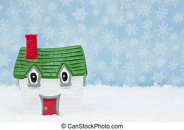 Your house in the winter season