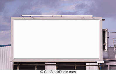 Your Message Here Blank City Billboard Advertising Space