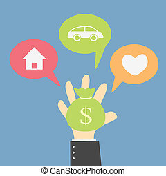 money choice - your money choice to buy your dream