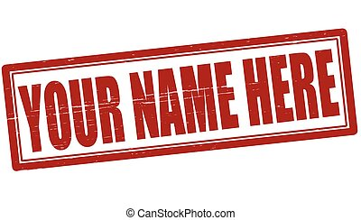 your name illustrations and clip art 7 631 your name royalty free rh canstockphoto com clipart name tag name clipart free