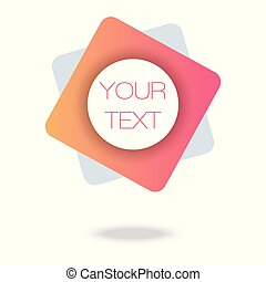 Your text here. Pink Minimal Pattern. Abstract Poster. ...
