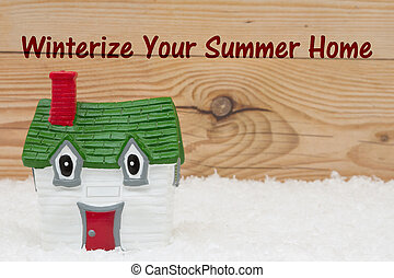 Winterize Your Summer Home