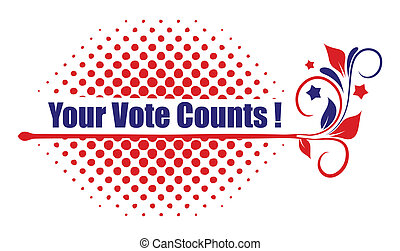 your vote counts design
