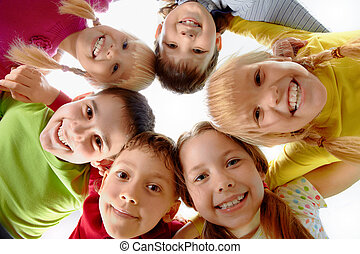 Youth and fun - Image of happy kids representing youth and ...