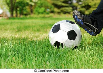 Youth Soccer Kick
