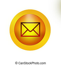 Youve got mail Button Icon
