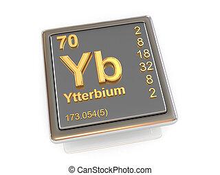 Ytterbium. Chemical element.