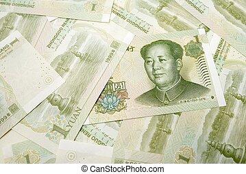 yuan, billets banque