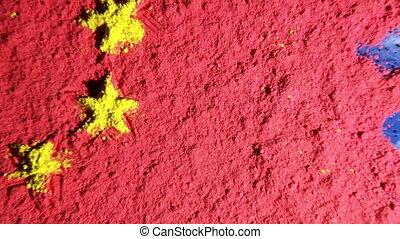 yuan, china, kaart