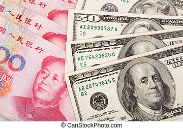 yuan, dollar, chinois, nous