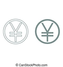 Yuan in the circle