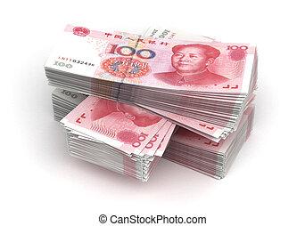 yuan, pile