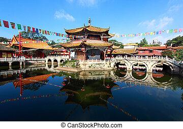 yuantong, kunming, templo
