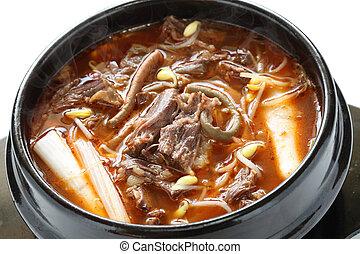 yukgaejang, korean food