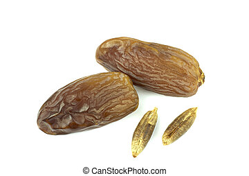 Yummy and delicious date fruits